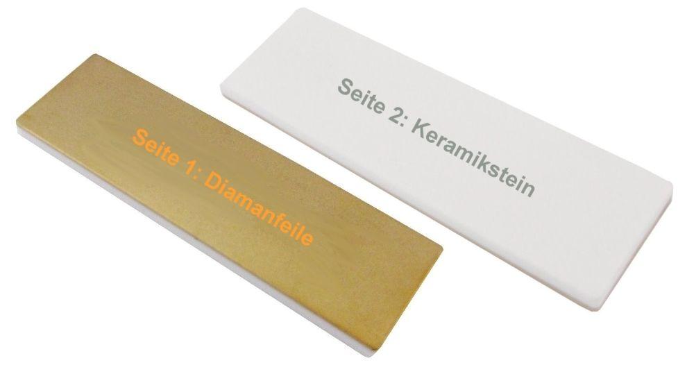 """MARC® Diamantfeile + Keramikstein """"Diamond & Ceramic Tuner"""""""