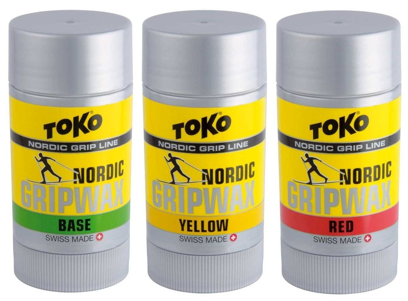 "TOKO Nordic Waxset ""Base+Grip"", 3x25g"