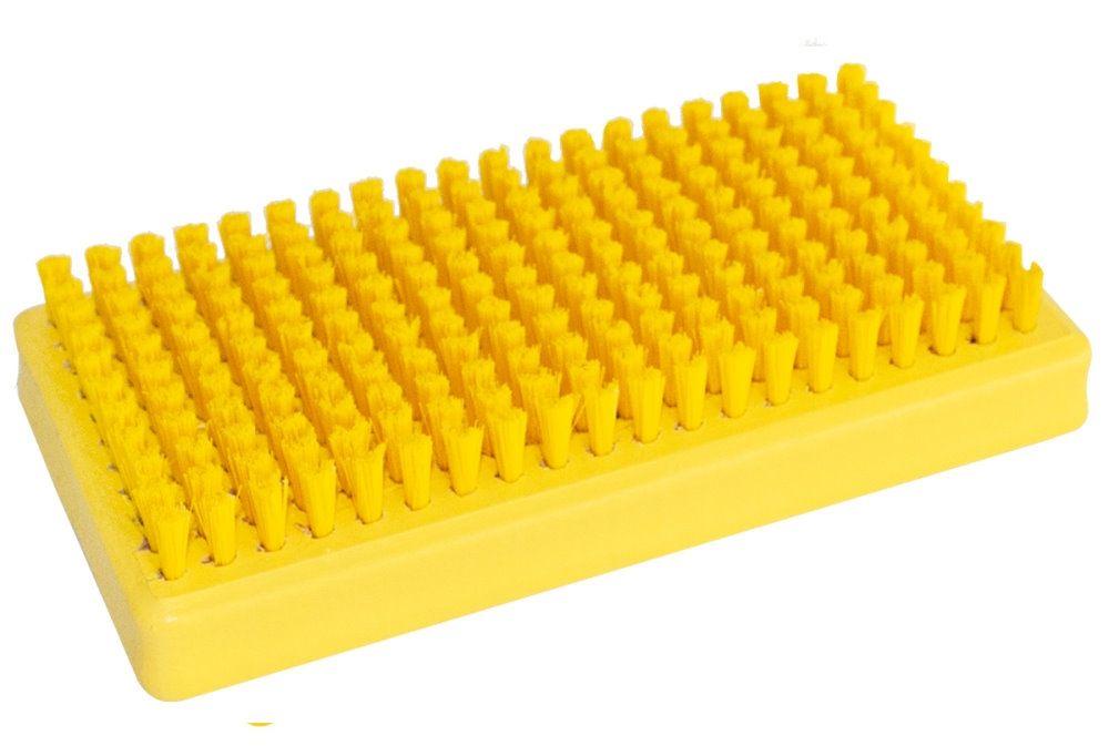 """TOKO Belag-Polierbürste, gelb """"Liquid Paraffin Wax"""""""