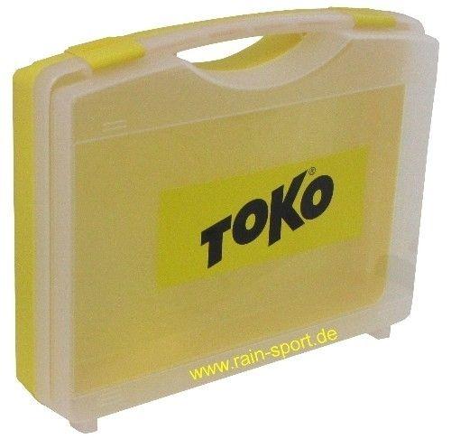 TOKO WaxSet-Box, gelb/transparent