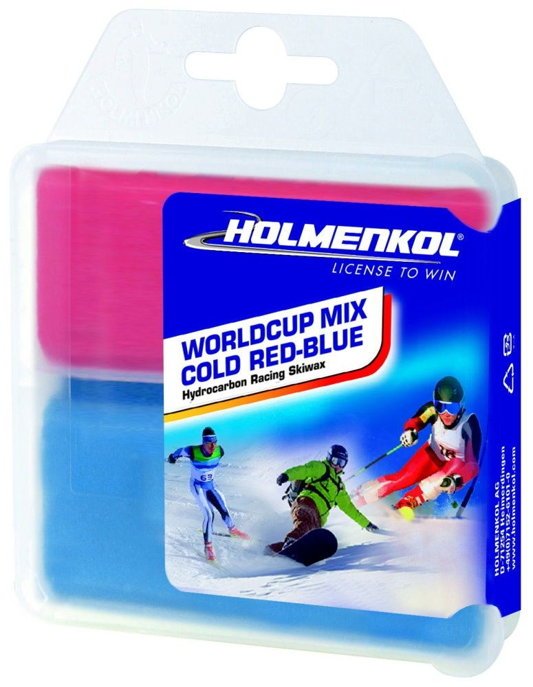 """HOLMENKOL WorldCup Mix COLD """"RED-BLUE"""""""