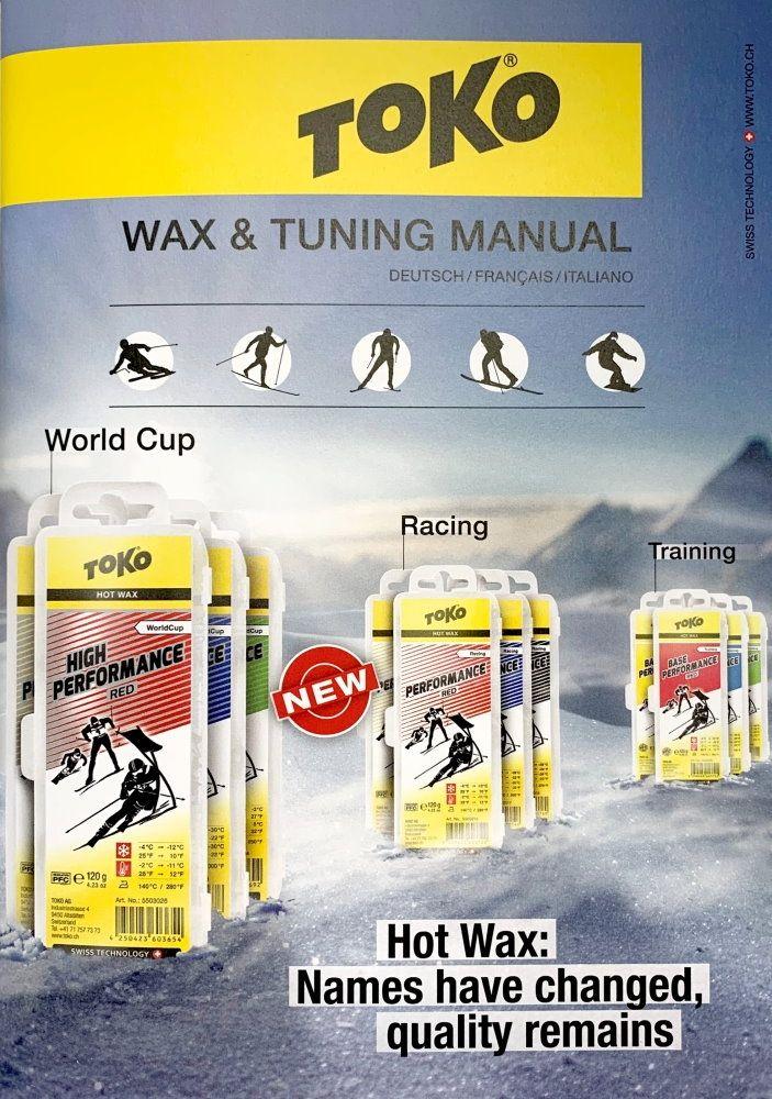 TOKO Wax Manual (Deutsch/Francais/Italiano)