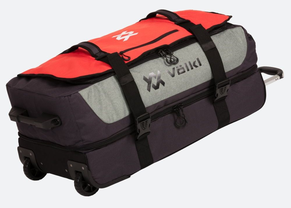 "Völkl Reisetrolley ""Rolling Bag"", rot-grau - 120 L"