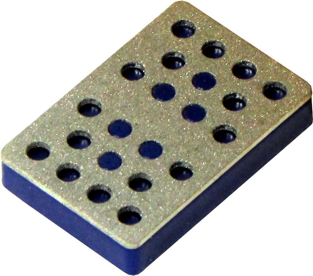 DiamantStar® Diamantfeilen - Segment 30 - blau / medium