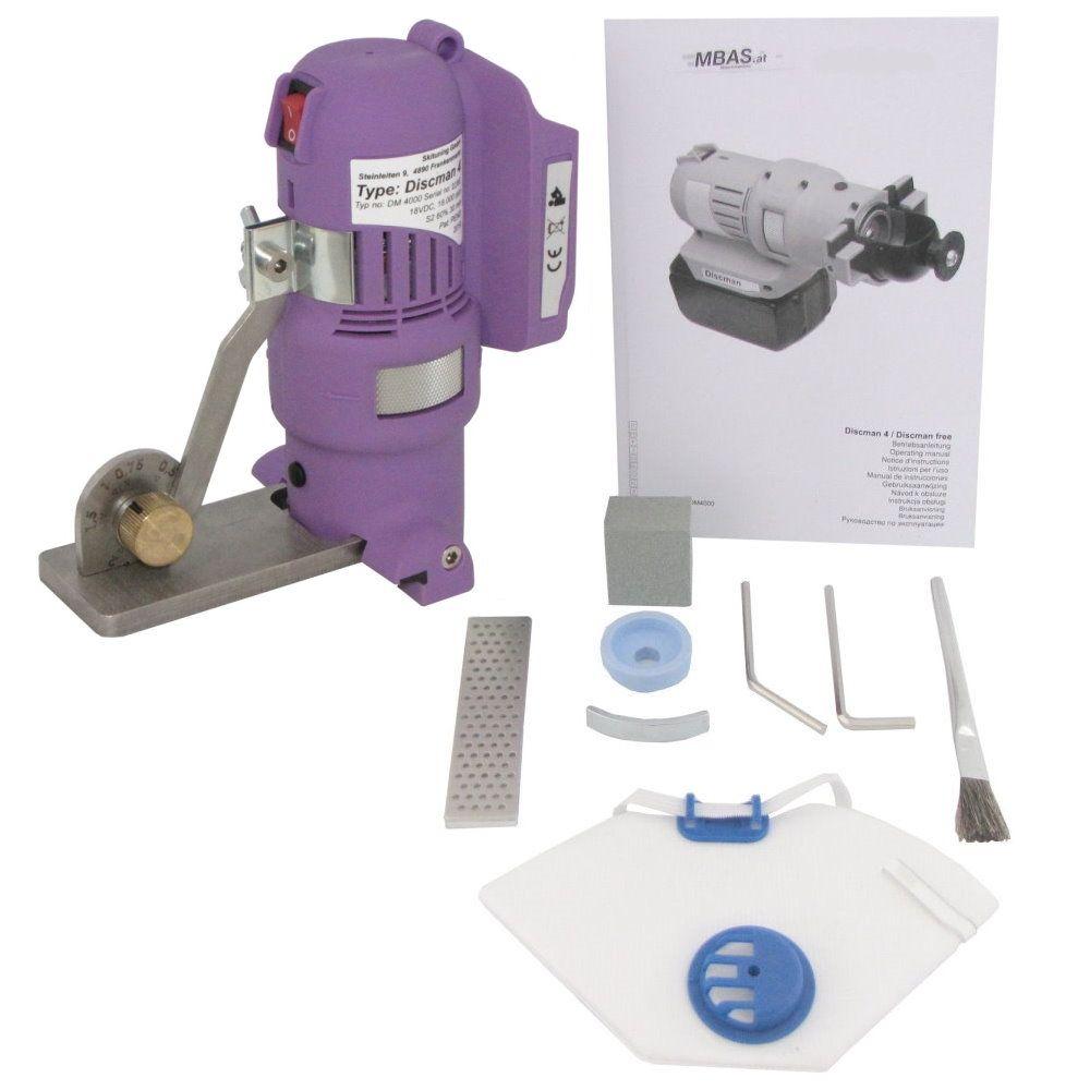 """MARC® Kantenschleifmaschine """"MBAS Discman Plus 4.2"""" - Set 1"""